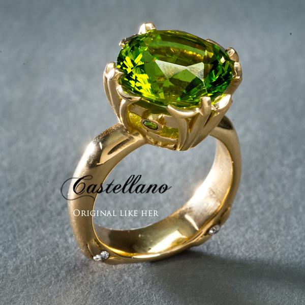 Connie Castellano Gemologist and Jewelry Designer